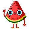Watermelon - Tray Sticker