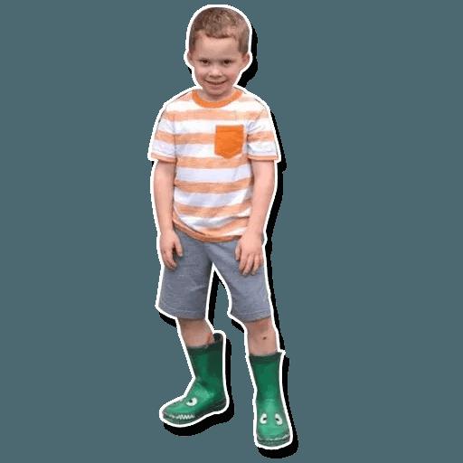 Confused kid - Sticker 26