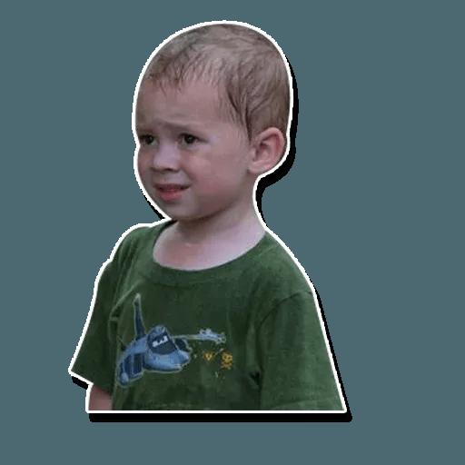 Confused kid - Sticker 15