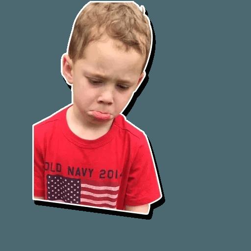 Confused kid - Sticker 21