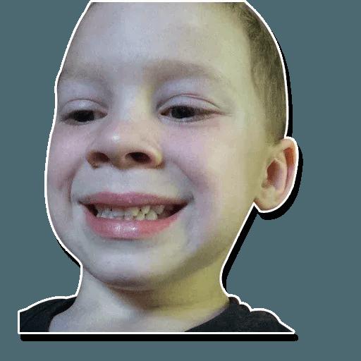 Confused kid - Sticker 8