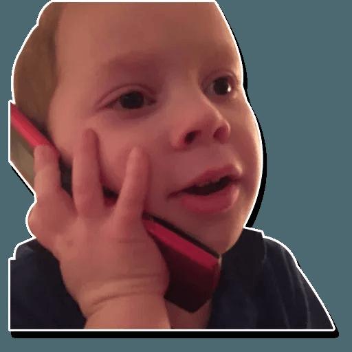 Confused kid - Sticker 9