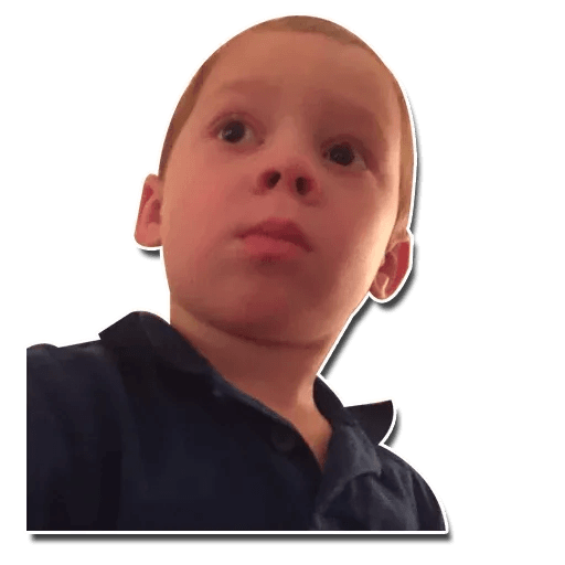 Confused kid - Sticker 10
