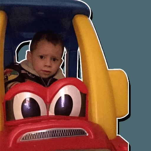 Confused kid - Sticker 25