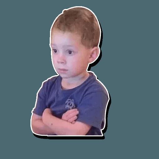 Confused kid - Sticker 6