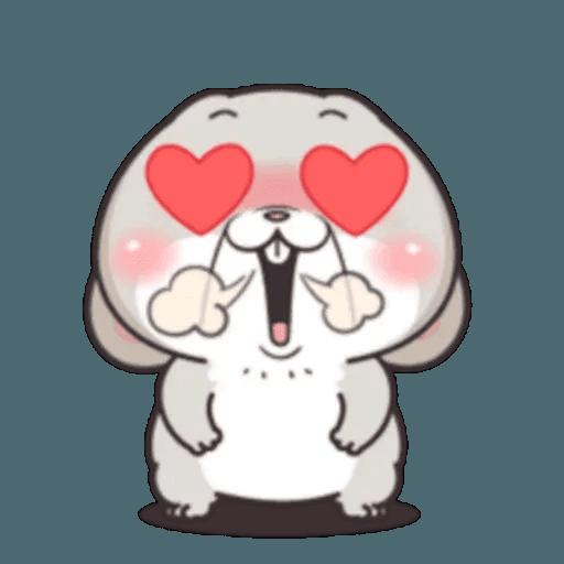 Cute Rabbit 3 - Sticker 17