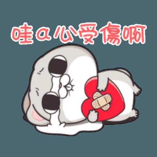 Cute Rabbit 3 - Sticker 13
