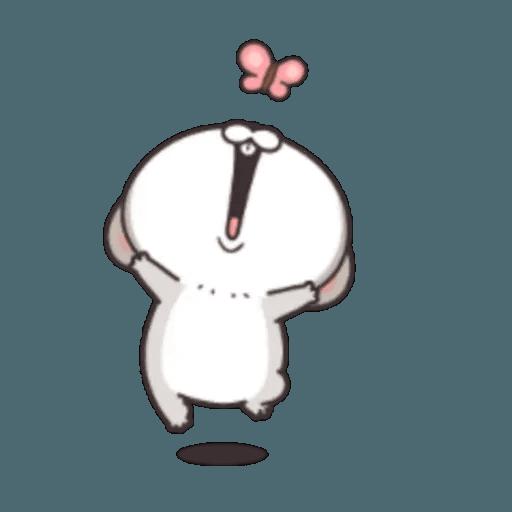 Cute Rabbit 3 - Sticker 6