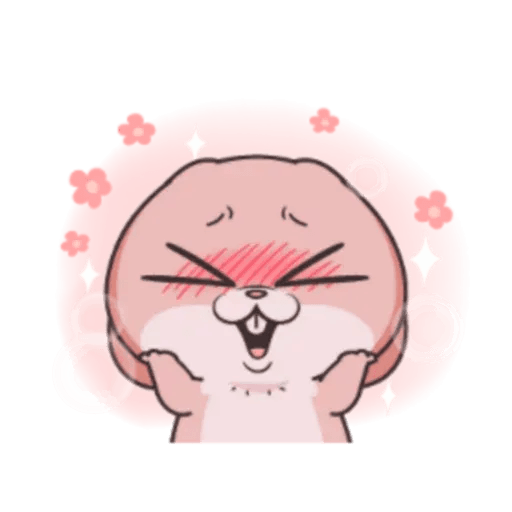 Cute Rabbit 3 - Sticker 5