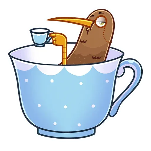 Kiwi bird - Sticker 21