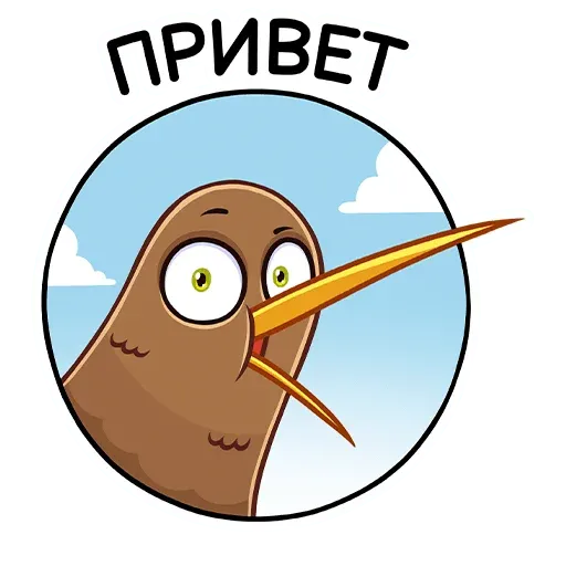 Kiwi bird - Sticker 1