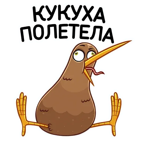 Kiwi bird - Sticker 15
