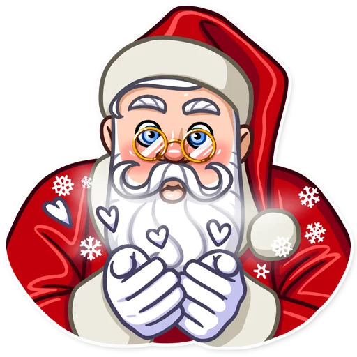 Santa Claus - Sticker 2