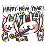New year 2 - Tray Sticker