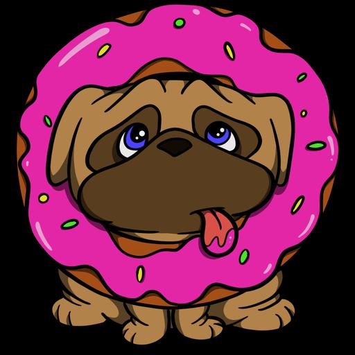 Pug Life - Sticker 1