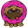 Pug Life - Tray Sticker