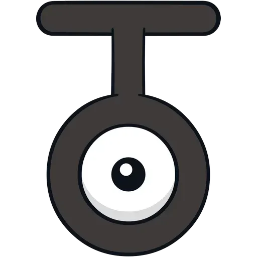 Unown - Sticker 19