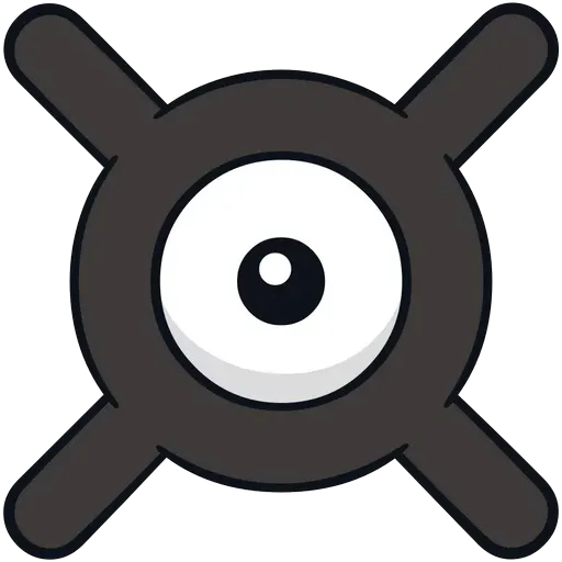 Unown - Sticker 23