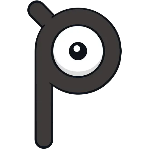 Unown - Sticker 16