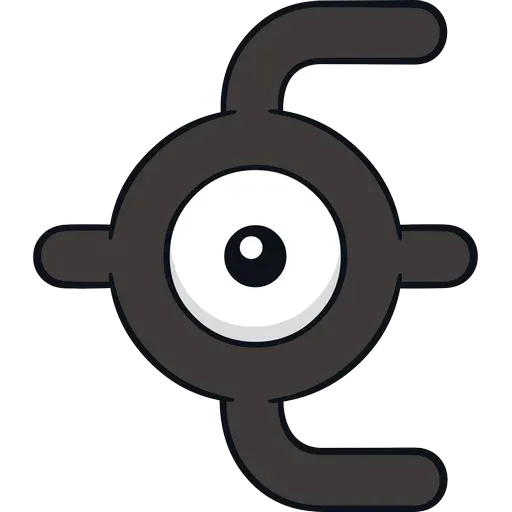 Unown - Sticker 6