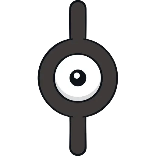 Unown - Sticker 10