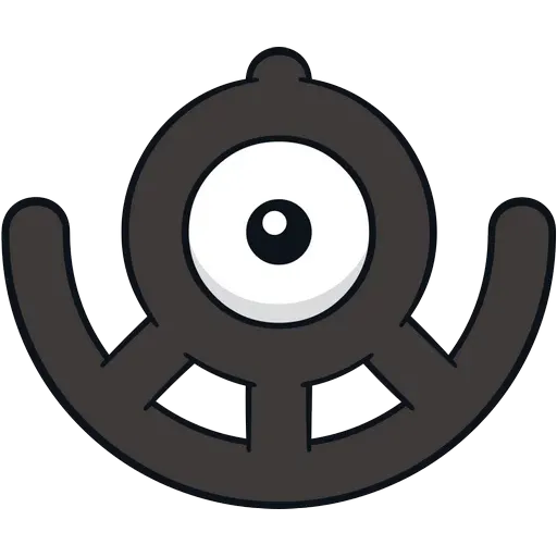 Unown - Sticker 20