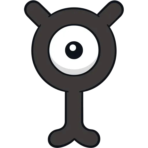 Unown - Sticker 24
