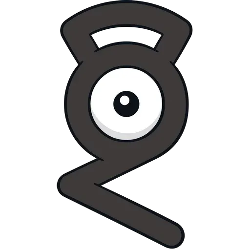 Unown - Sticker 8