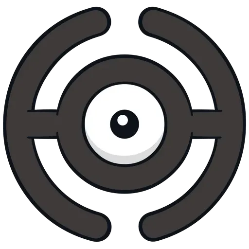 Unown - Sticker 9