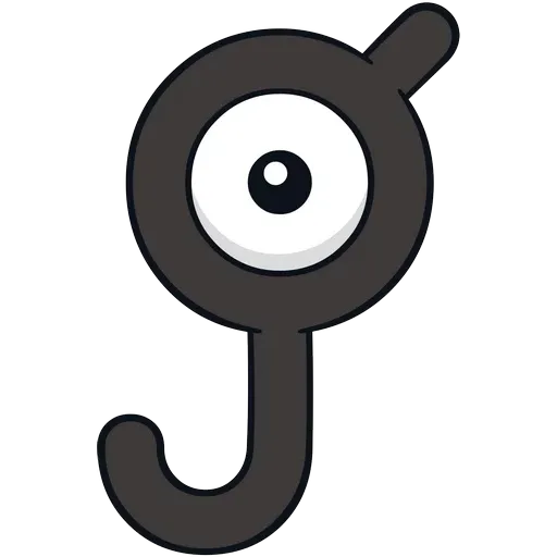 Unown - Sticker 11