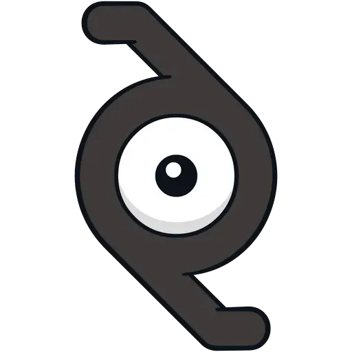 Unown - Sticker 25