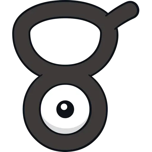 Unown - Sticker 21