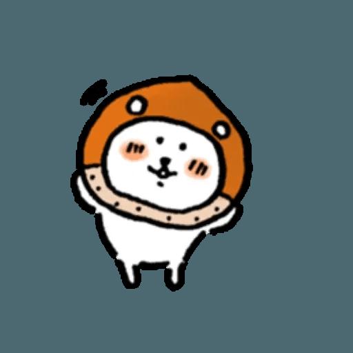 對自己吐糟的白熊秋日2 - Sticker 11