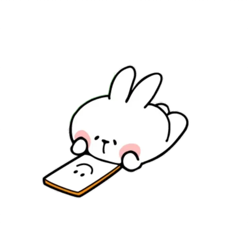 Spoiled rabbit small - Sticker 5