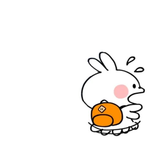 Spoiled rabbit small - Sticker 4