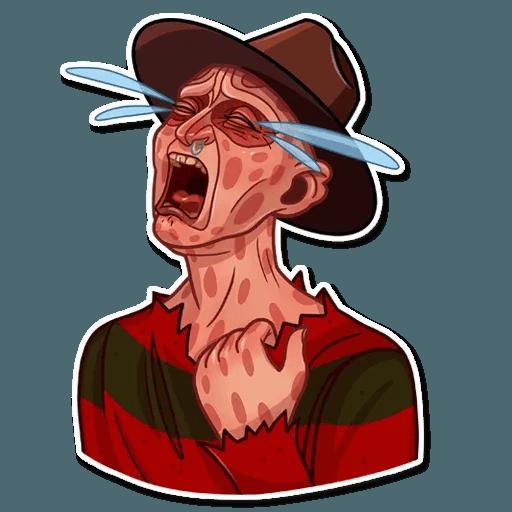 Freddy Krueger - Sticker 2