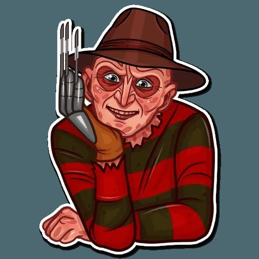 Freddy Krueger - Sticker 16