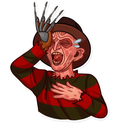 Freddy Krueger - Sticker 4