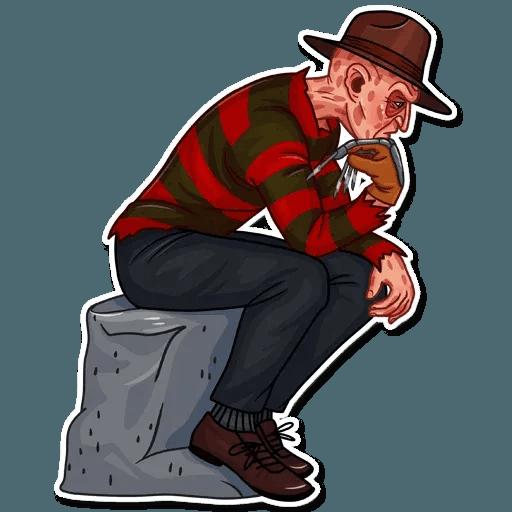 Freddy Krueger - Sticker 17