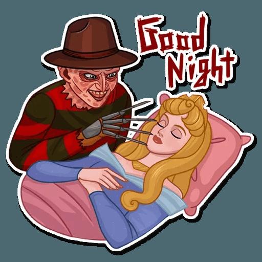 Freddy Krueger - Sticker 21