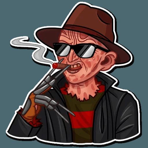 Freddy Krueger - Sticker 7