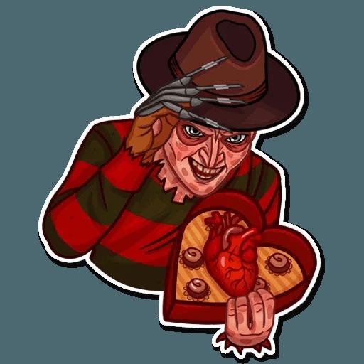Freddy Krueger - Sticker 10