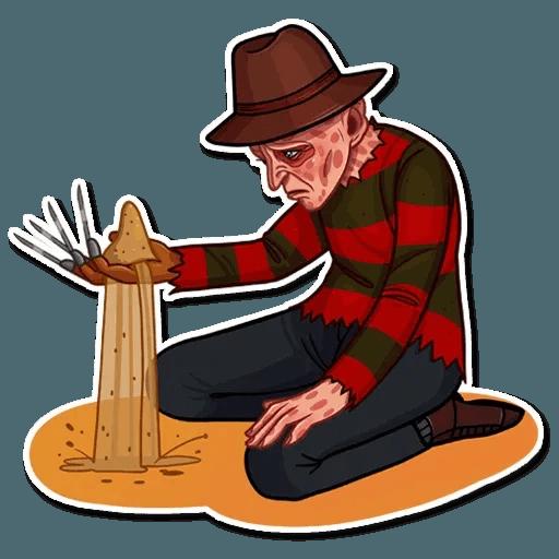 Freddy Krueger - Sticker 9