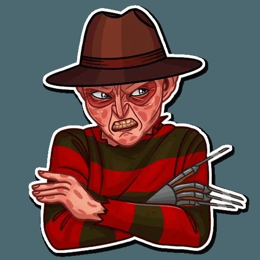 Freddy Krueger - Sticker 3