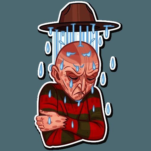 Freddy Krueger - Sticker 14