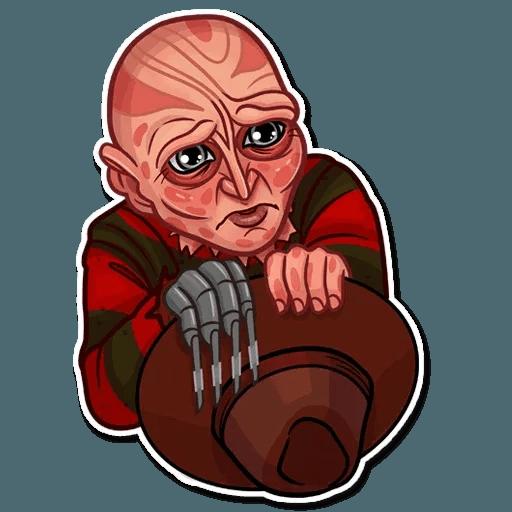 Freddy Krueger - Sticker 8