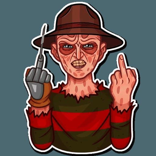 Freddy Krueger - Sticker 13