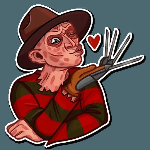 Freddy Krueger - Sticker 5