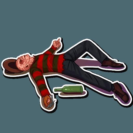 Freddy Krueger - Sticker 18