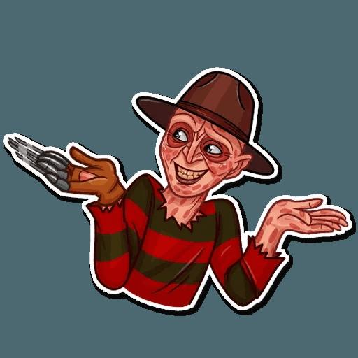 Freddy Krueger - Sticker 15